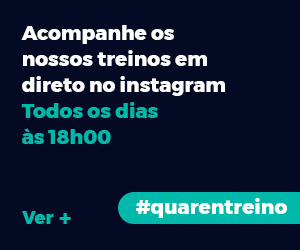 #quarentreino