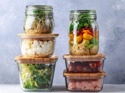 Como aumentar o tempo de conservação dos alimentos: alimentos acondicionados em caixas de virdro