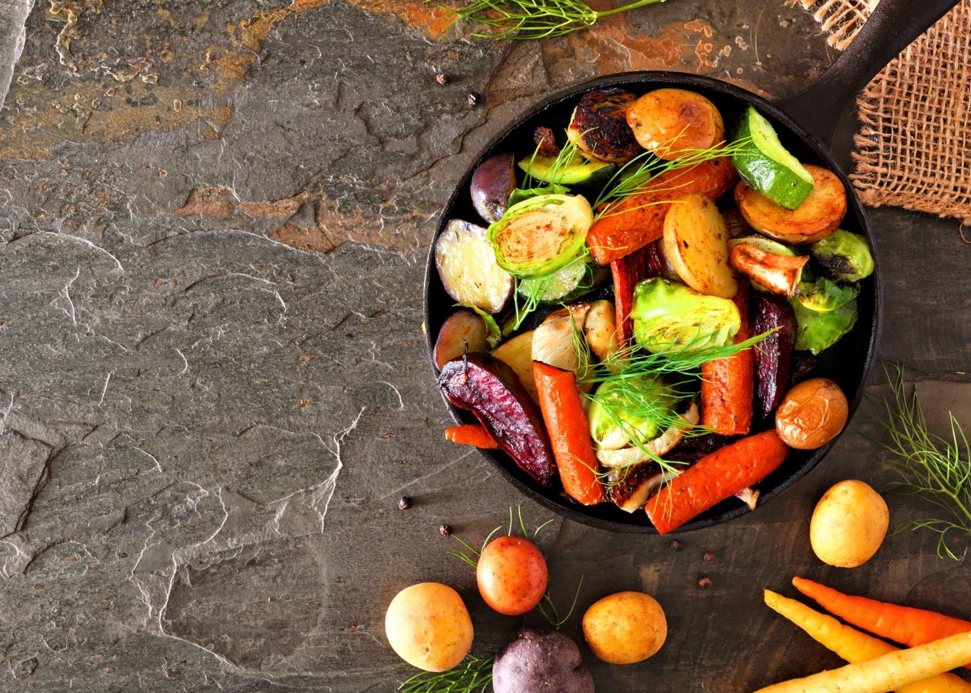 método e tempo de confeção ideais de legumes e leguminosas: assar