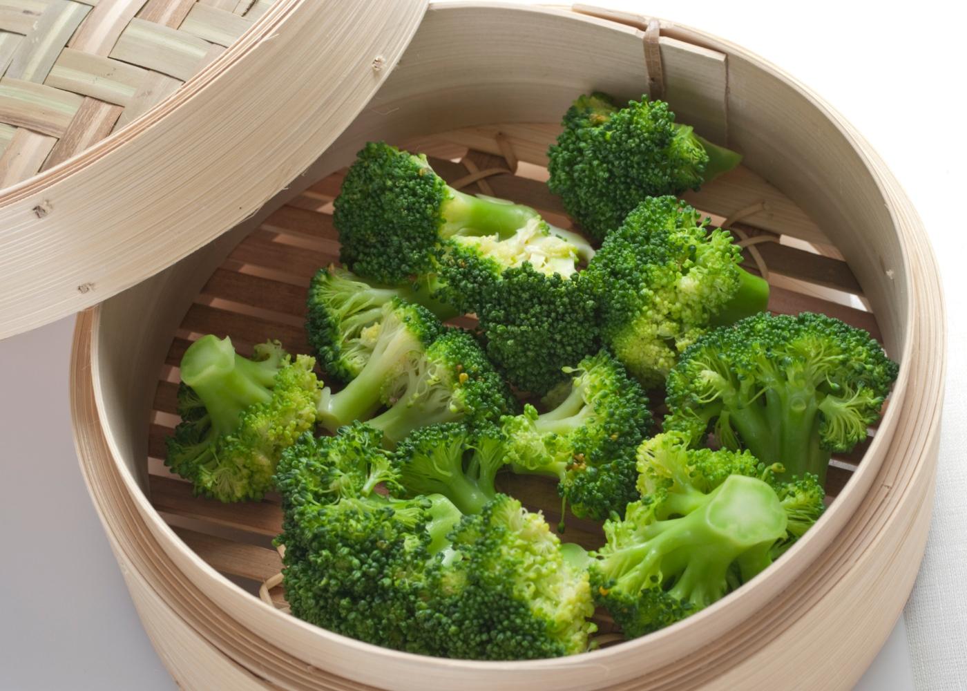método e tempo de confeção ideais de legumes e leguminosas: cozinhar legumes a vapor