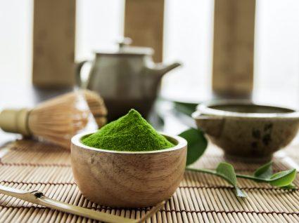 Benefícios do chá matcha