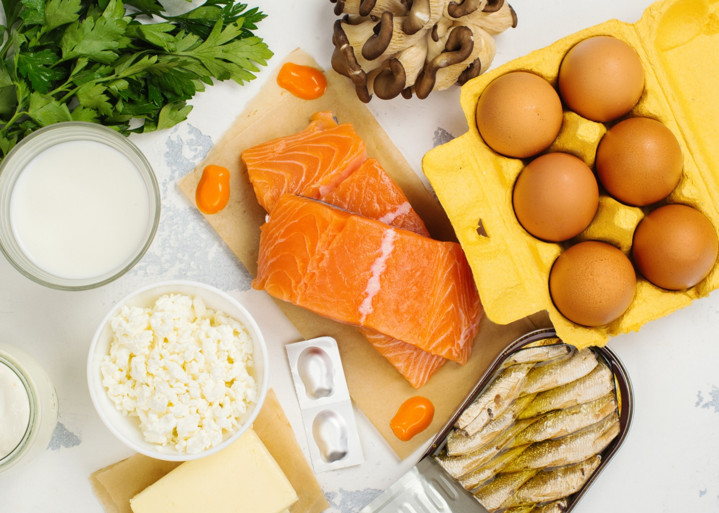 Alimentos que substituem a carne: peixe e ovos