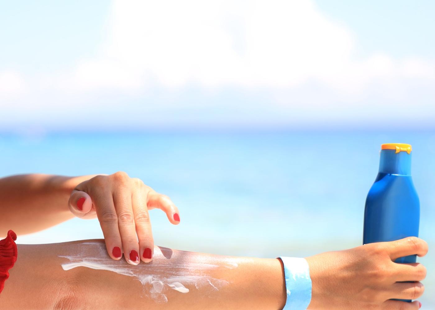 dicas para tratar um escaldão solar