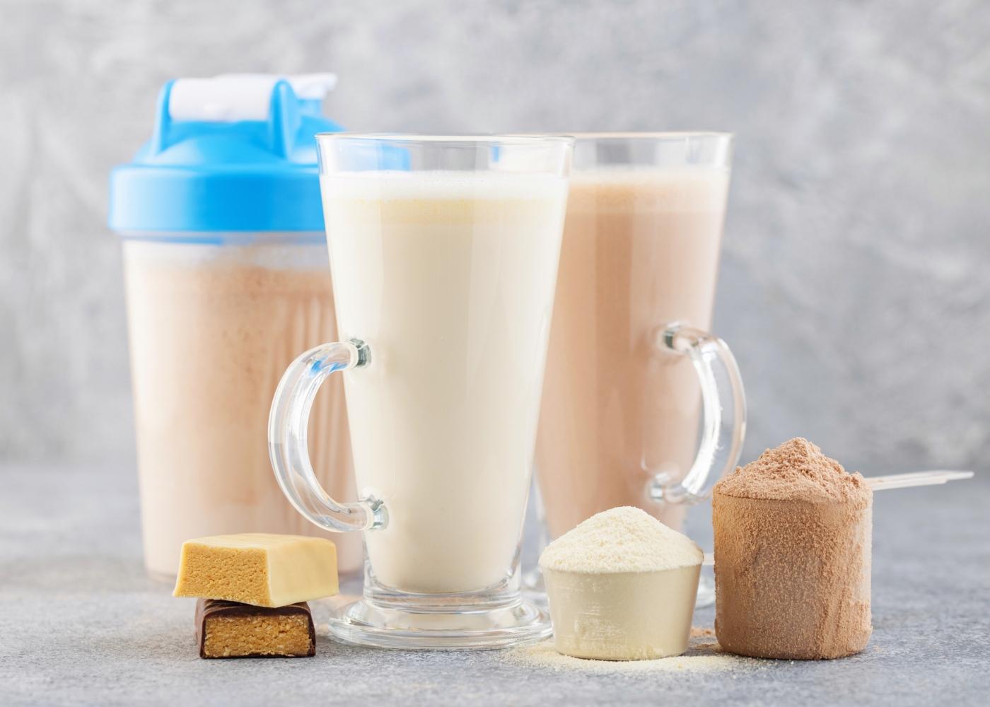 Consumo de batido de proteína depois do treino:
