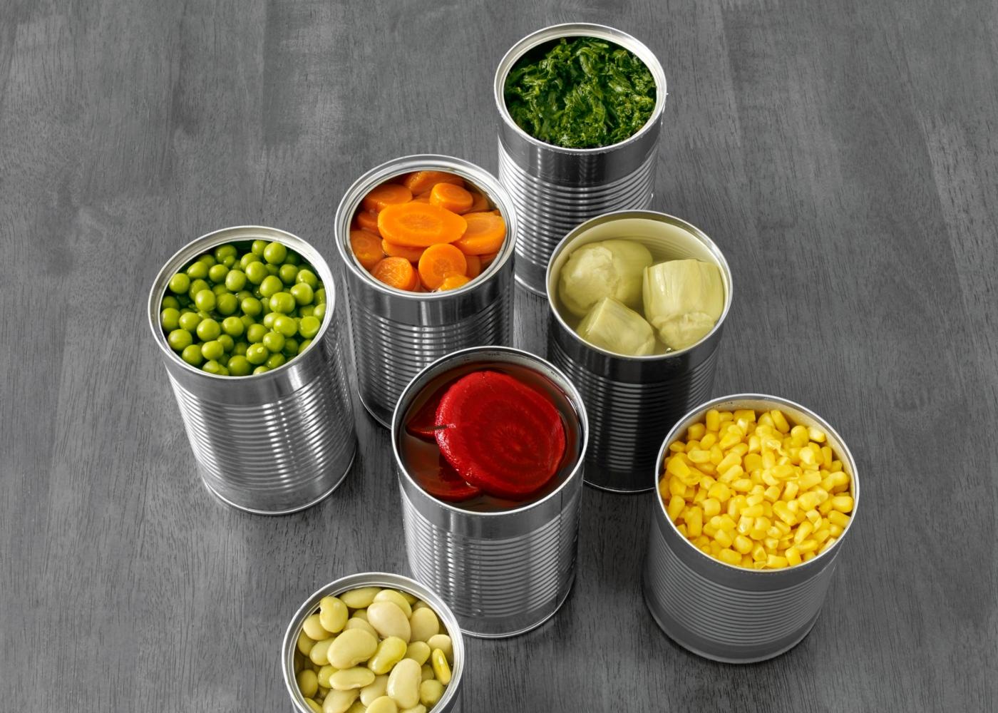 Alimentos em conserva e enlatados
