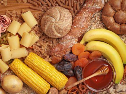 Alimentos ricos em hidratos de carbono