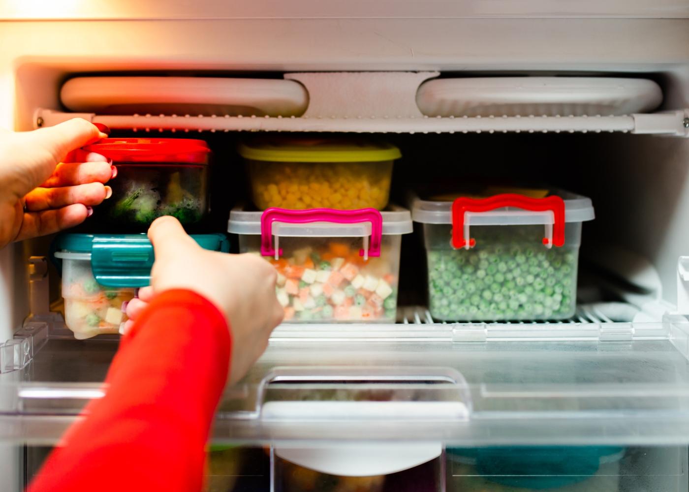 Conservar alimentos congelados: cuidados