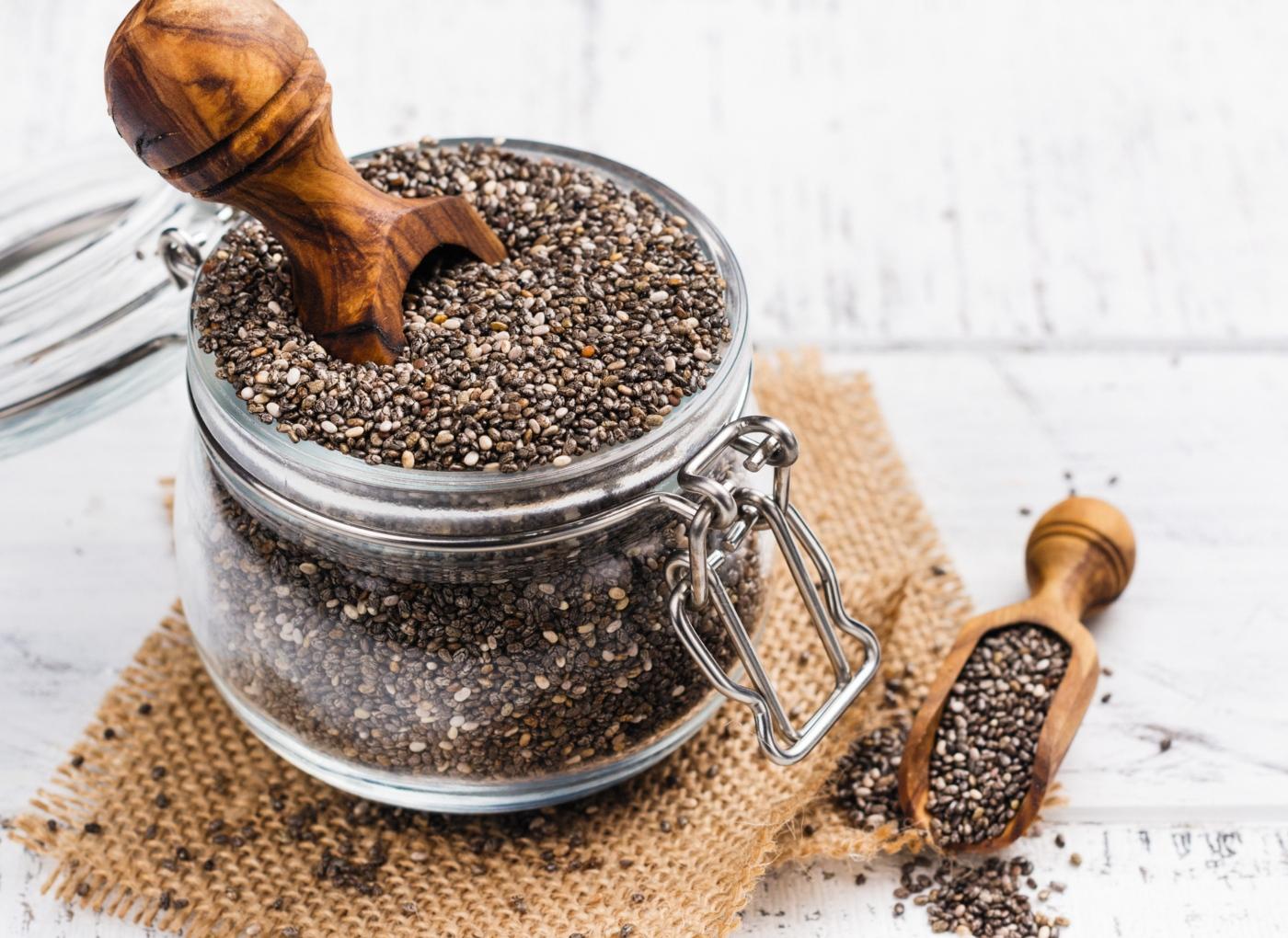 lista de superalimentos sementes