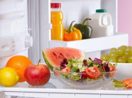 Coisas que não deve guardar no seu frigorífico: variedade de alimentos
