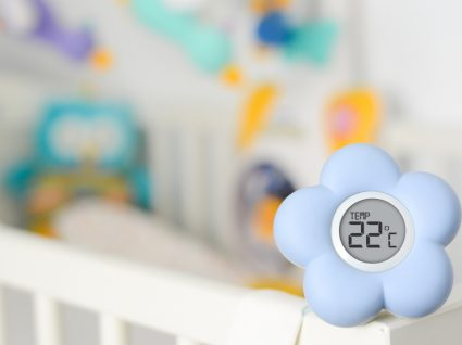 Temperatura ideal para o quarto dos bebés