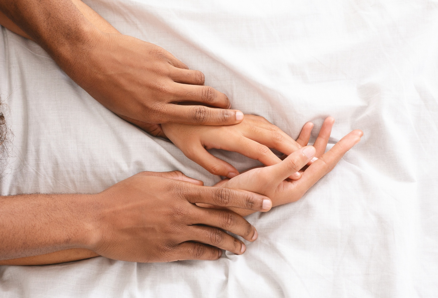 Casal a ter relações sexuais
