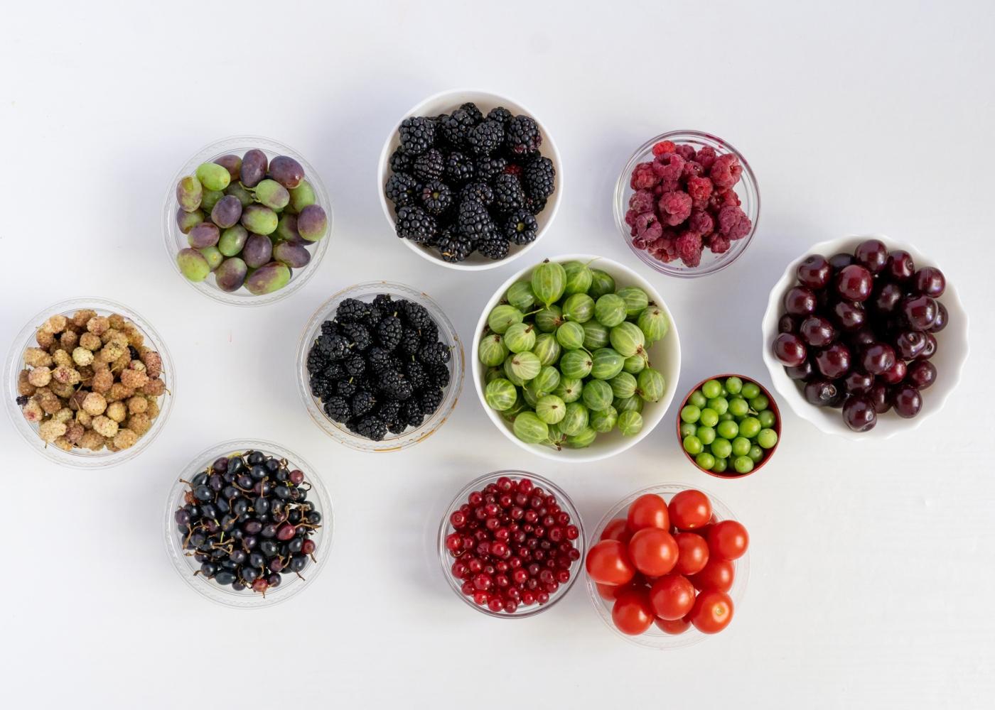 Alimentos com propriedades anti-inflamatórias: bagas