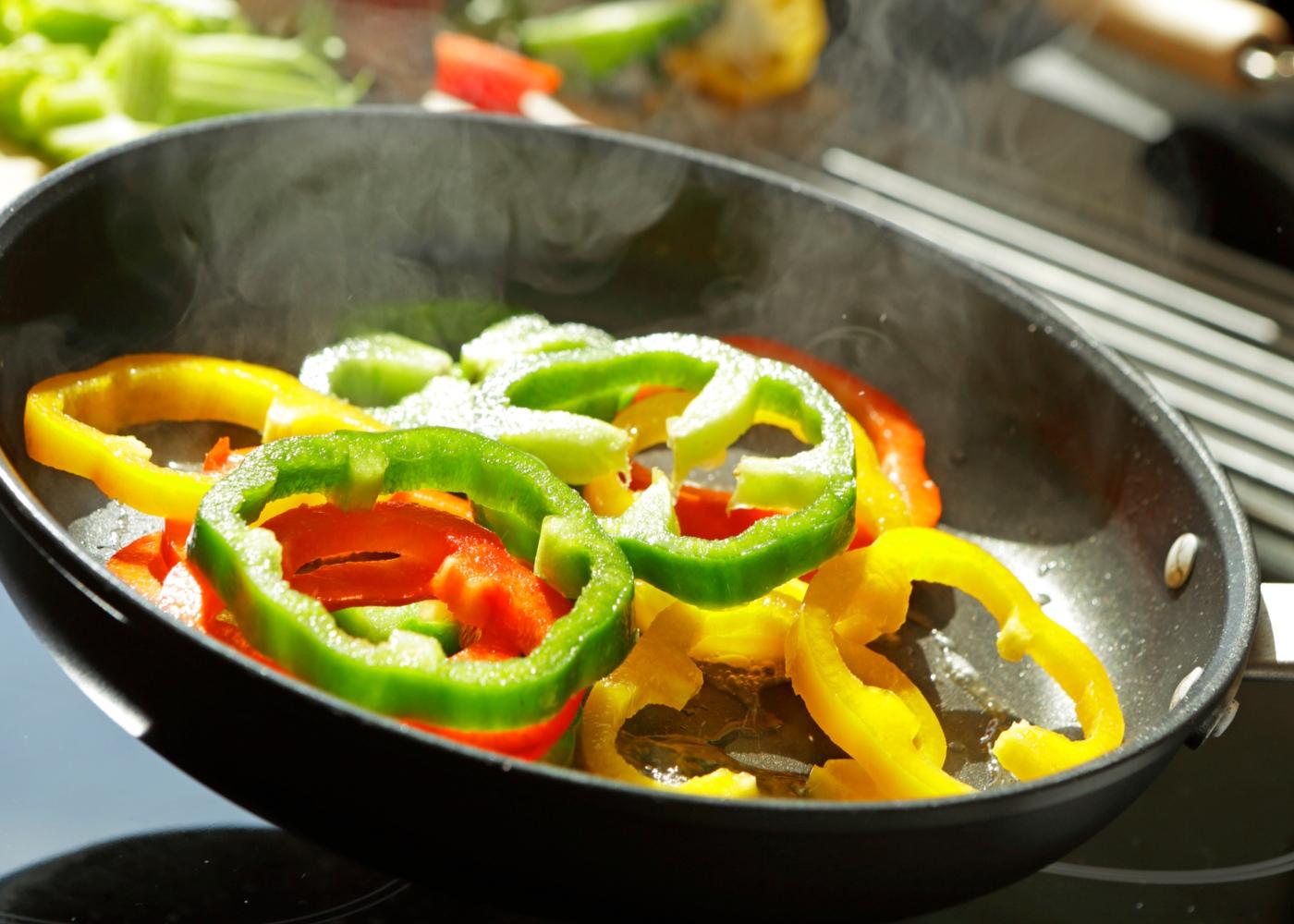 Alimentos com propriedades anti-inflamatórias: pimentos