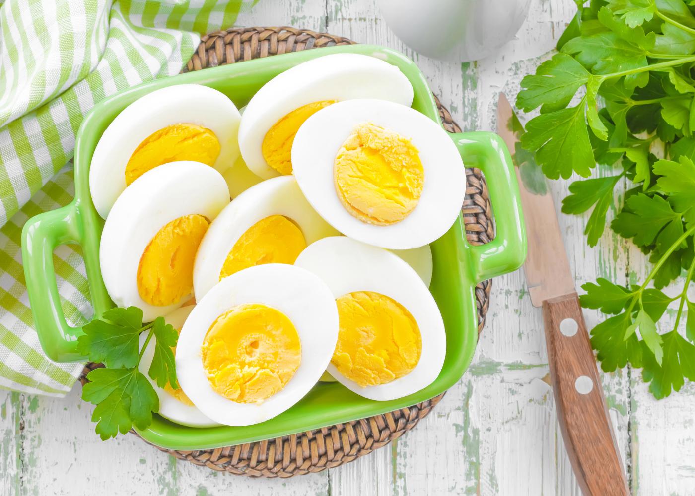Fact-check: ovo, apenas 1 por semana?