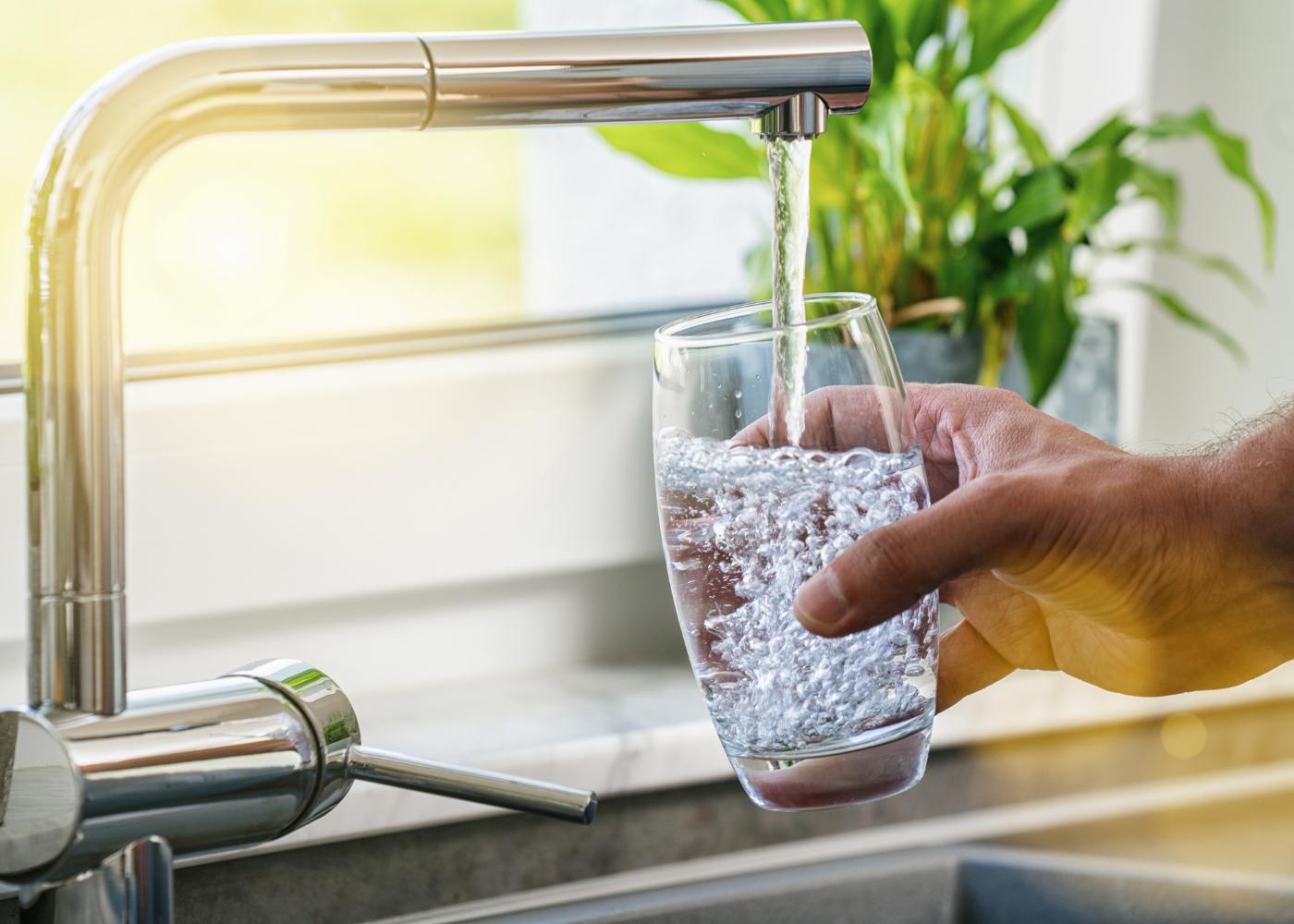 água da torneira