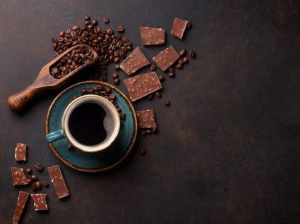 Alimentos que podem ajudar a reduzir o apetite: café e chocolate negro