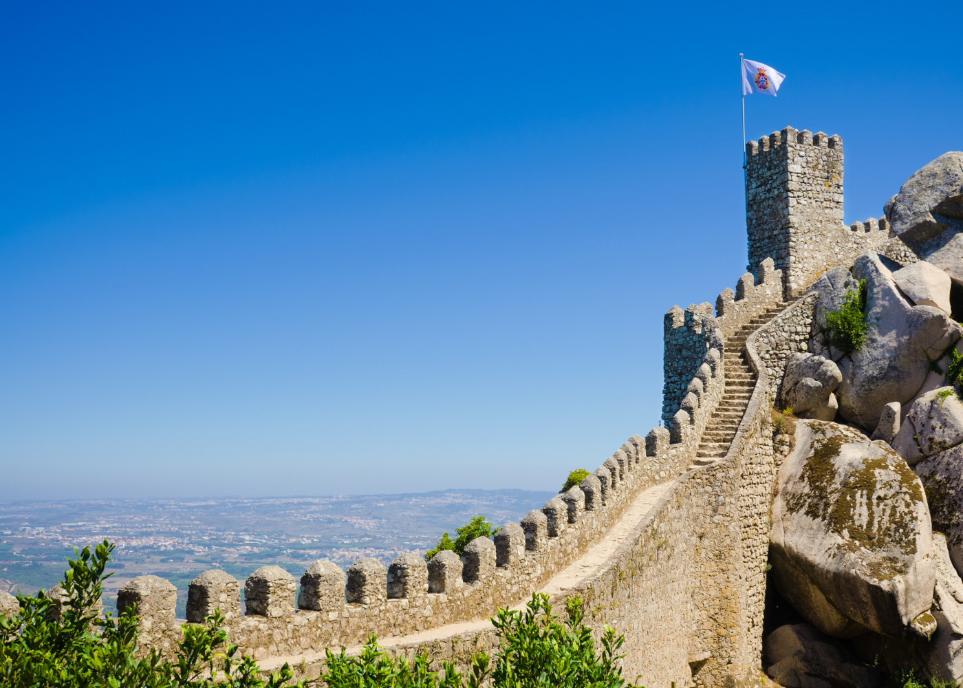 castelo dos mouros em Sintra