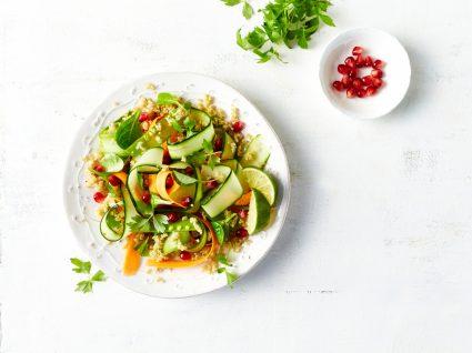 prato de salada saudável