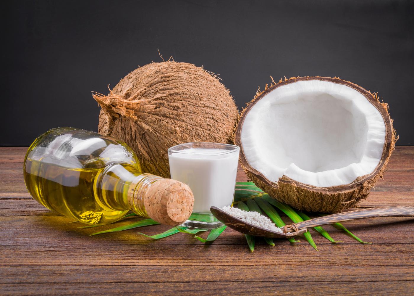 garrafa de azeite e oleo de coco oleo de coco e azeite