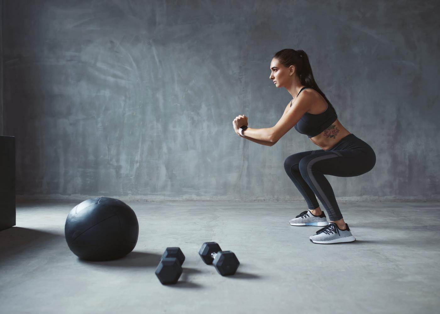 exercicios de crossfit para emagrecer agachamentos