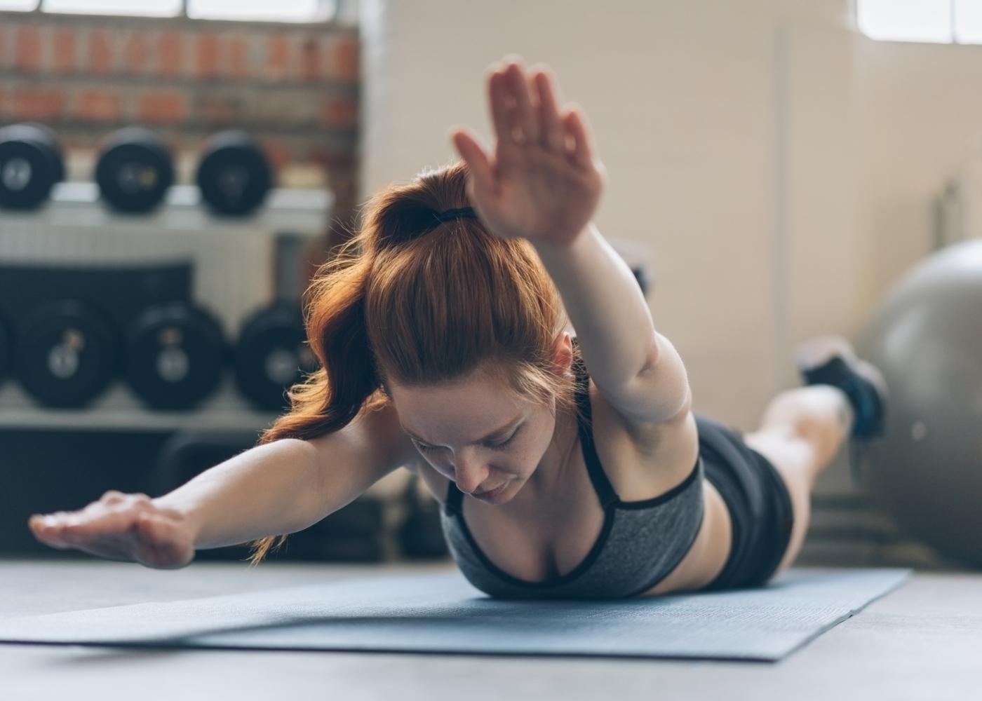 Alongamentos para costas: ativação dos trapézios