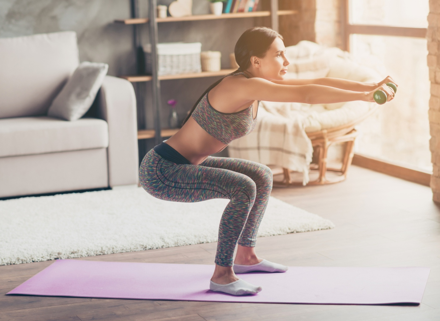 Os melhores exercícios de pernas para fazer em casa