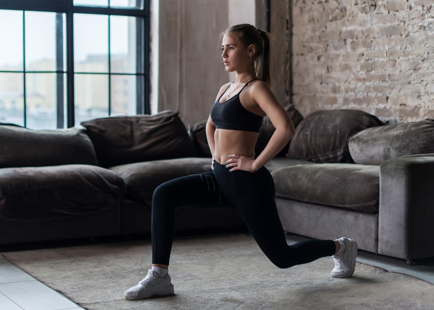 exercicios de crossfit para emagrecer lunges