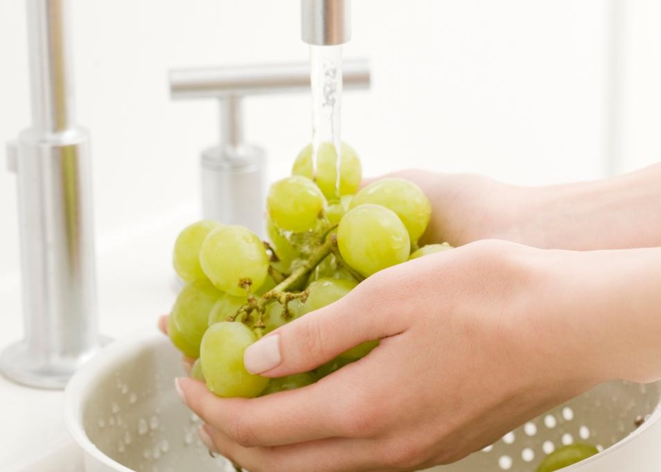 Alimentos para comer de manhã: uvas