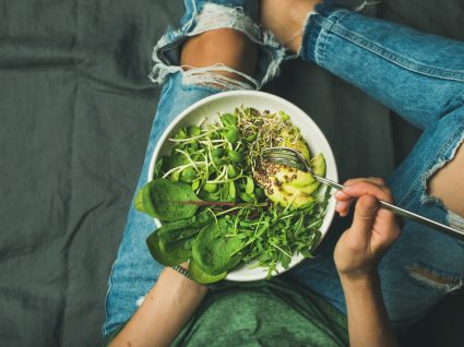 défice de colina em dietas vegetarianas: cuidados a ter
