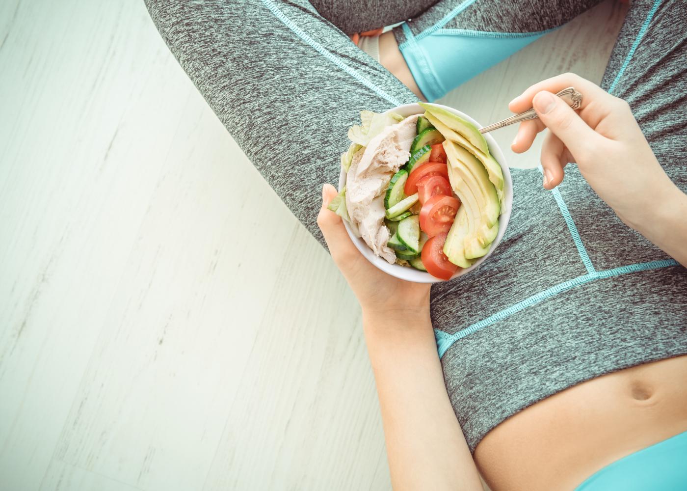 o que nao fazer depois do treino comer salada depois do treino