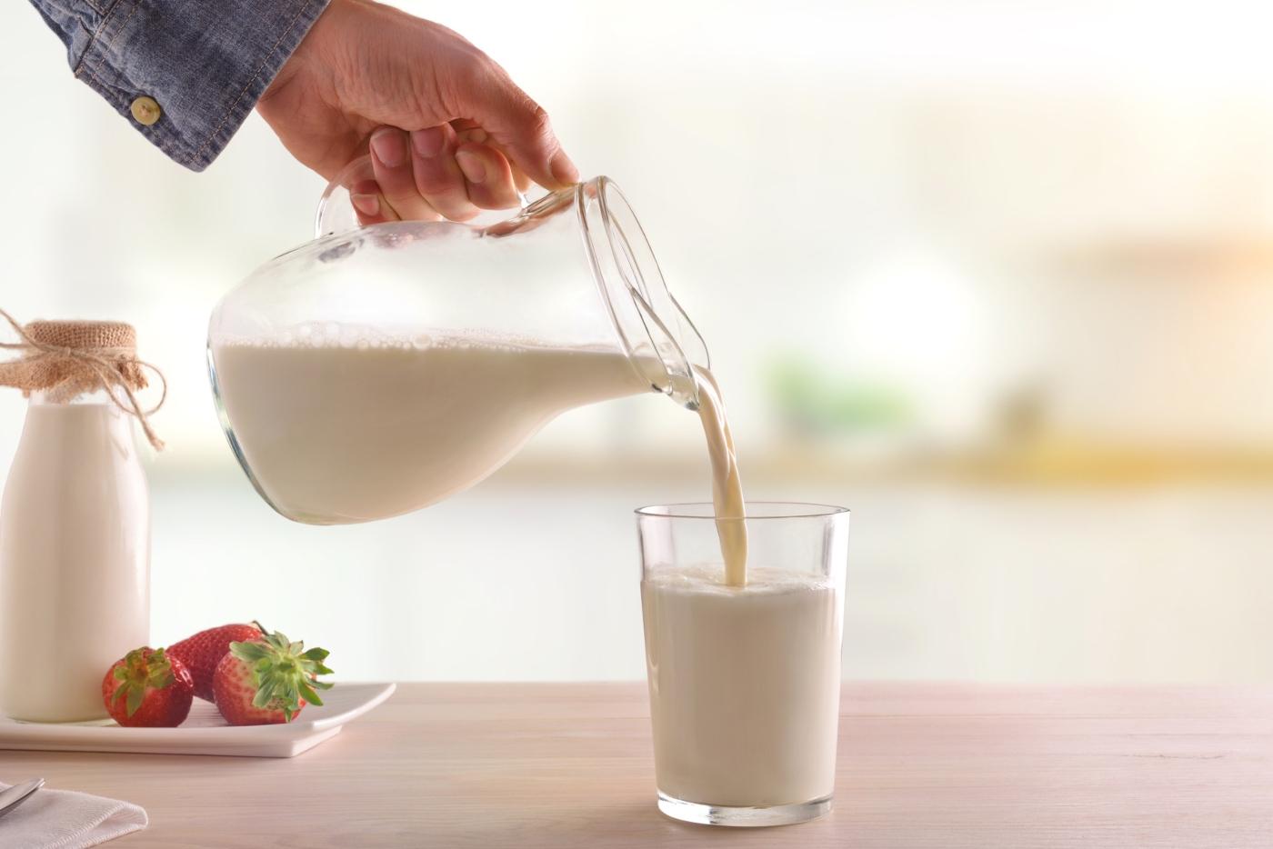 Leite indicado para crianças: leite gordo ou meio-gordo