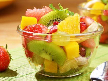 Que quantidade de fruta pode comer por dia?