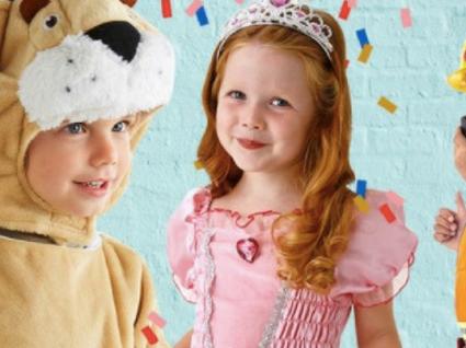 Disfarces de Carnaval para crianças em saldos: divirta-se com os seus filhos
