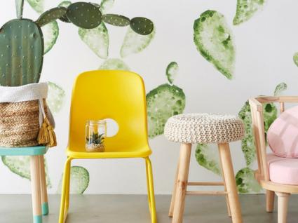 10 Propostas de decoração para quartos primaveris para crianças