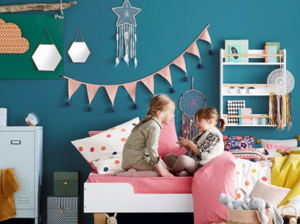35 Ideias de decoração para o quarto de crianças