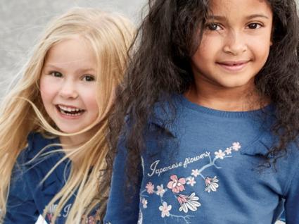 Estampados florais: a tendência da estação para meninas