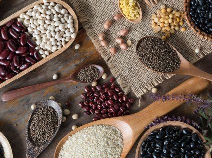 Os grãos, leguminosas e cereais com mais proteína: conheça-os!