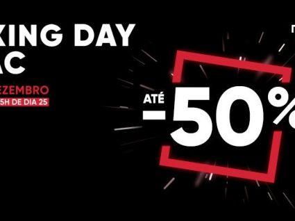 Boxing Day Fnac: preços loucos nos dias 25 e 26 de Dezembro