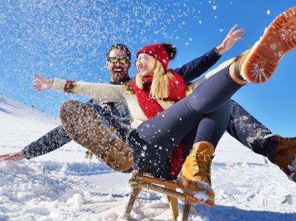 8 Destinos de sonho para escapadinhas na neve idílicas