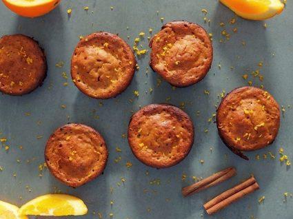 Receita de Muffins de laranja e amendoim by Vanessa Alfaro