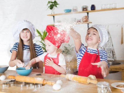 8 Utensílios de cozinha divertidos para crianças