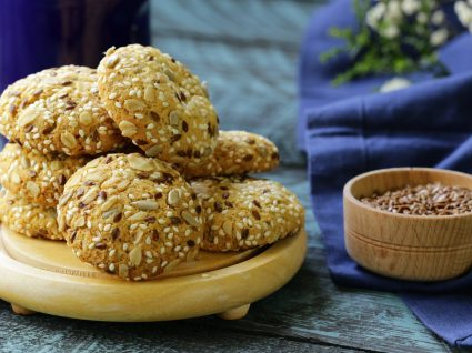 Bolachas de sésamo: delícias doces e salgadas para todos os gostos