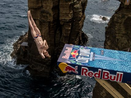 Red Bull Cliff Diving: Campeões brilharam nos Açores