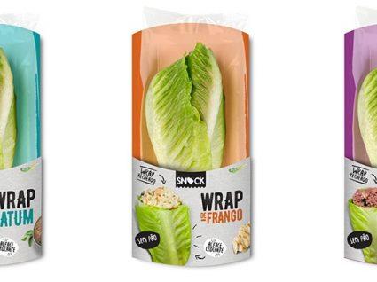 Wrap de alface: uma opção saudável para um almoço rápido e nutritivo