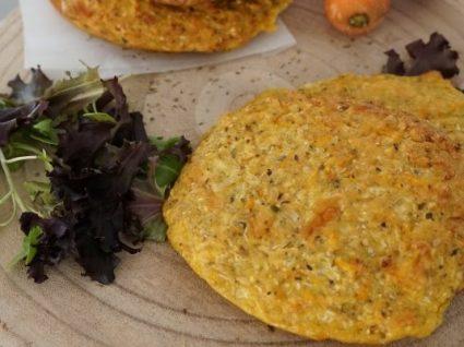Hambúrgueres de couve-flor e cenoura by Vanessa Alfaro