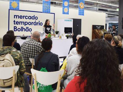 Showcooking de Refeições Vegetarianas: as receitas que brilharam no Mercado Temporário do Bolhão