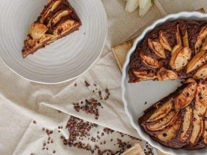 Tarte de chocolate e maçã by Vanessa Alfaro