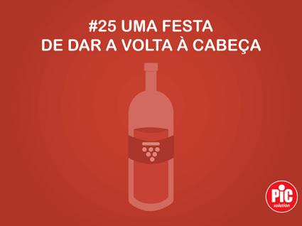 #25 UMA FESTA DE DAR A VOLTA À CABEÇA