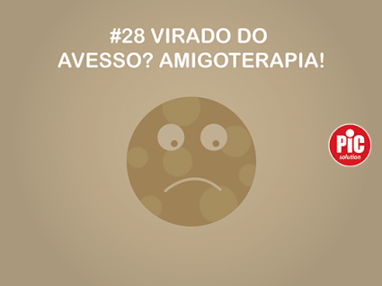 # 28 VIRADO DO AVESSO? AMIGOTERAPIA!