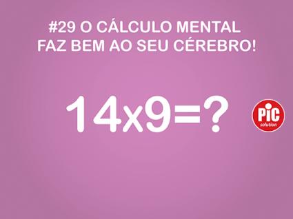 #29 O CÁLCULO MENTAL FAZ BEM AO SEU CÉREBRO!